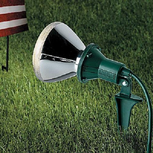 Christmas Spotlight Outdoor  Outdoor SET OF 2 SPOTLIGHT FLOOD LIGHT HOLDERS Lawn
