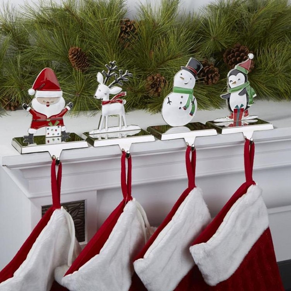 Christmas Stocking Hangers For Fireplace  Christmas stocking holders – cool ideas for your Christmas