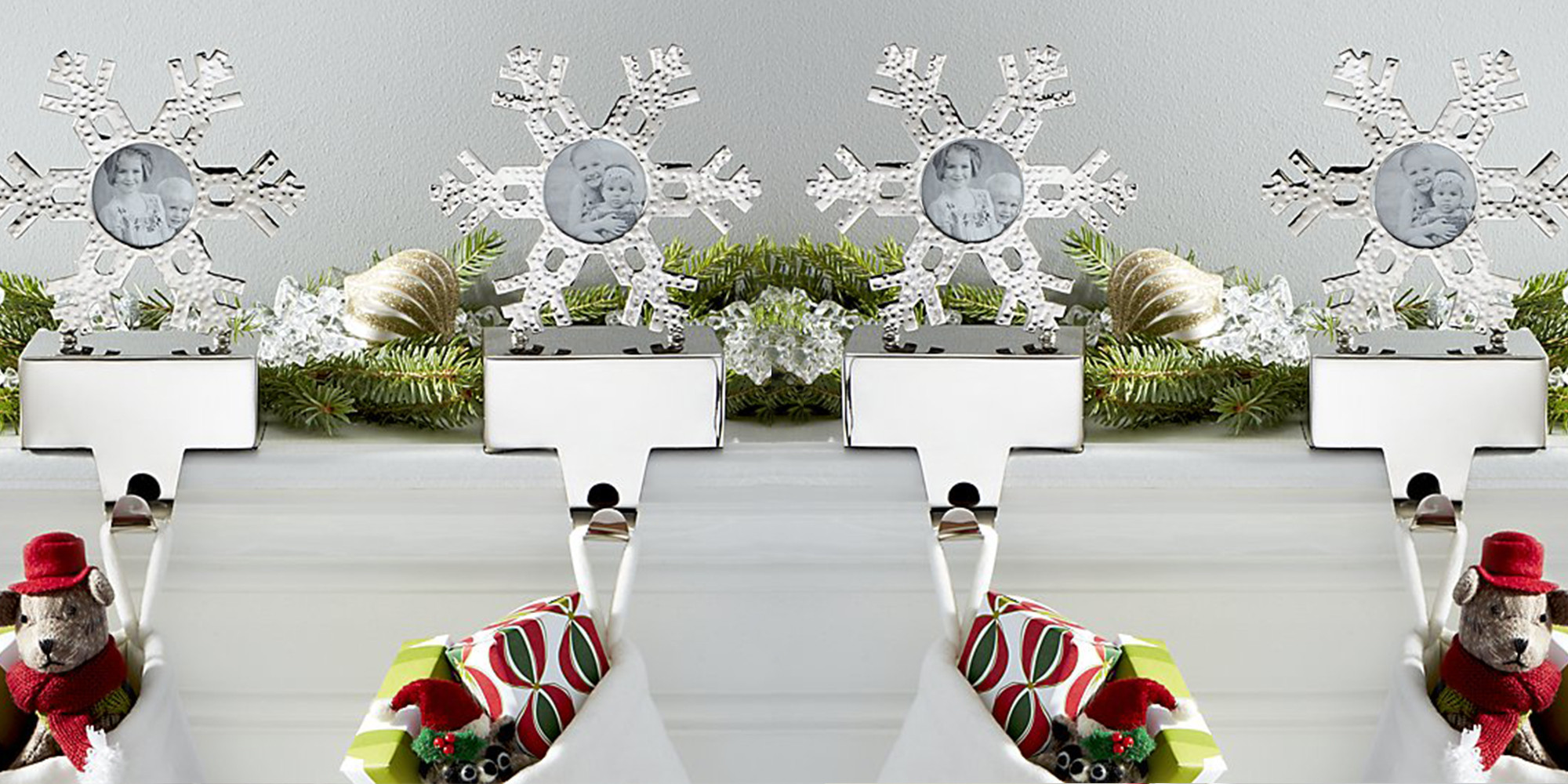 Christmas Stocking Hangers For Fireplace  9 Best Christmas Stocking Hangers for the Mantel 2017