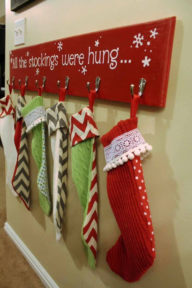 Christmas Stocking Hangers For Fireplace  25 DIY Christmas Ideas You Must Try In 2015 The Xerxes