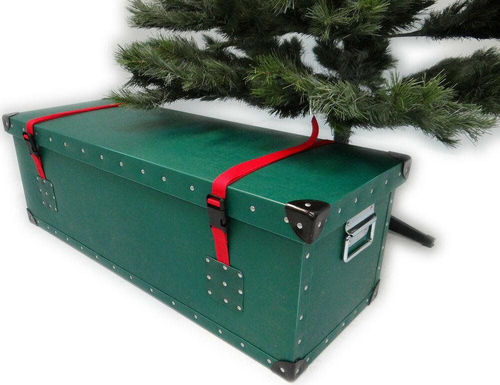 Christmas Storage Box  Artificial Christmas Tree Luxury Storage Box Container