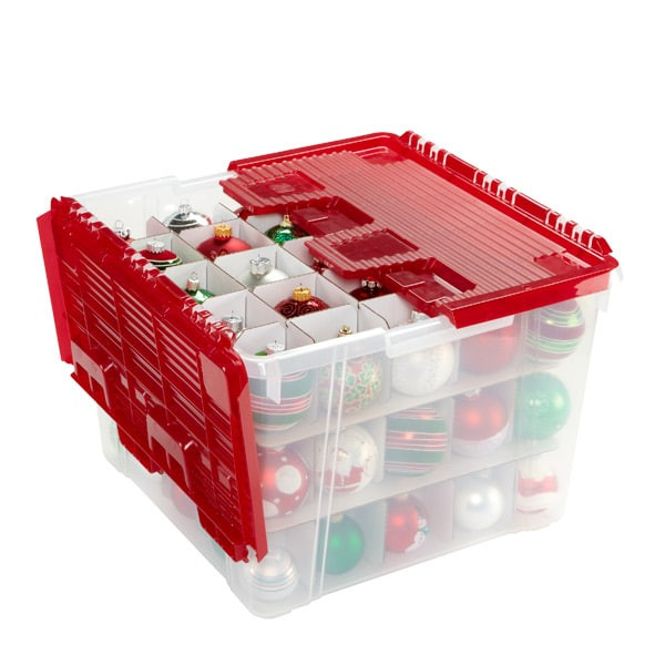 Christmas Storage Box  6 Top Containers for Moving or Storing Holiday Decorations