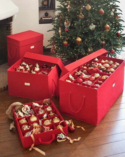 Christmas Storage Box  Storing Your Holiday Ornaments Balsam Hill Artificial