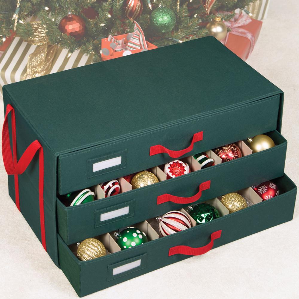 Christmas Storage Box  Christmas Ornament Storage Ideas