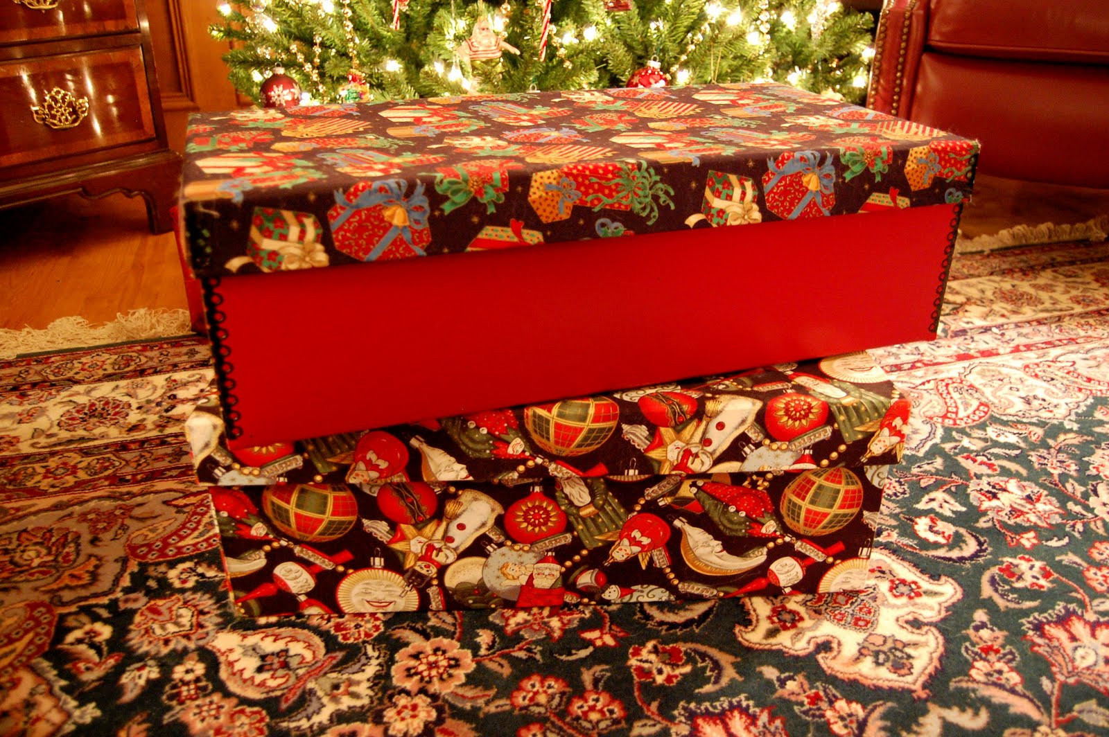 Christmas Storage Box  The Best Christmas Ornament Storage Box
