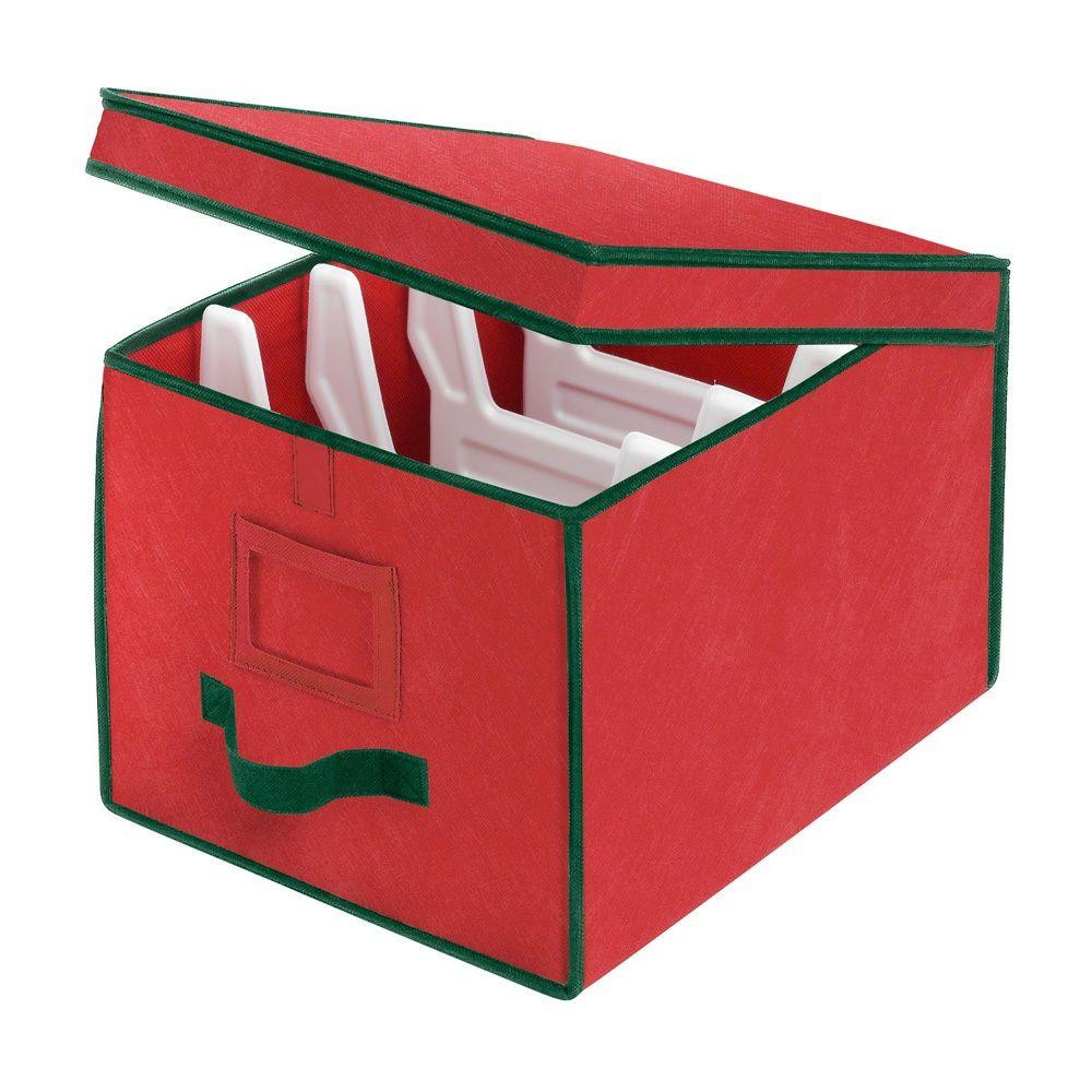 Christmas Storage Box  Whitmor Christmas Storage Collection 12 in x 10 in