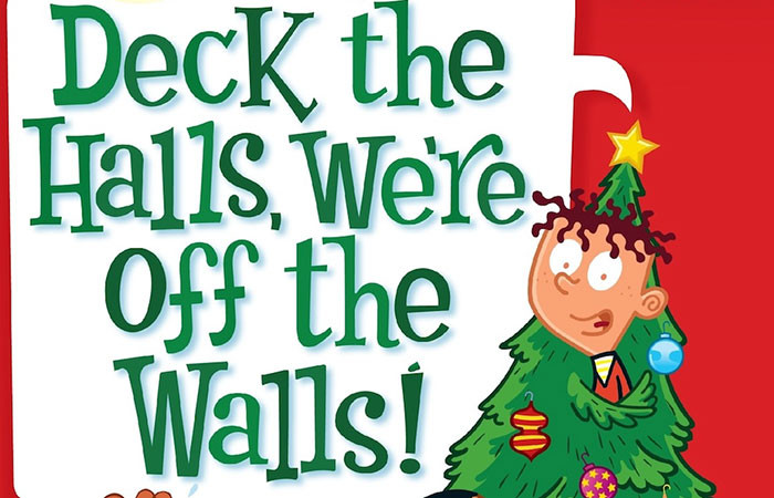 Christmas Story Deck the Halls Awesome 7 Chapter Books that Celebrate the Holidays the B&n Kids