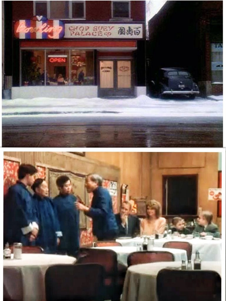 Christmas Story Deck The Halls  A Christmas Story 1983 Waiters in Chinese Restaurant