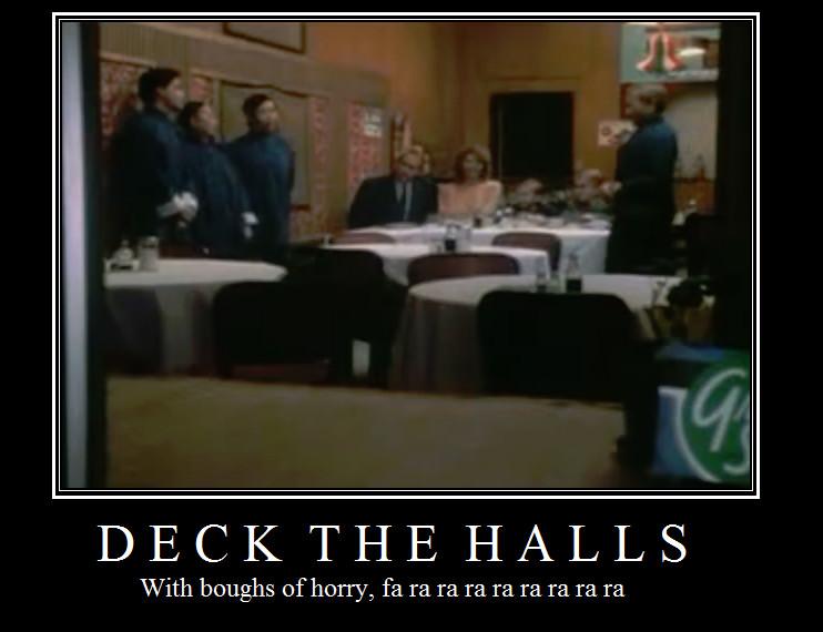 Christmas Story Deck The Halls  Fa ra ra ra ra