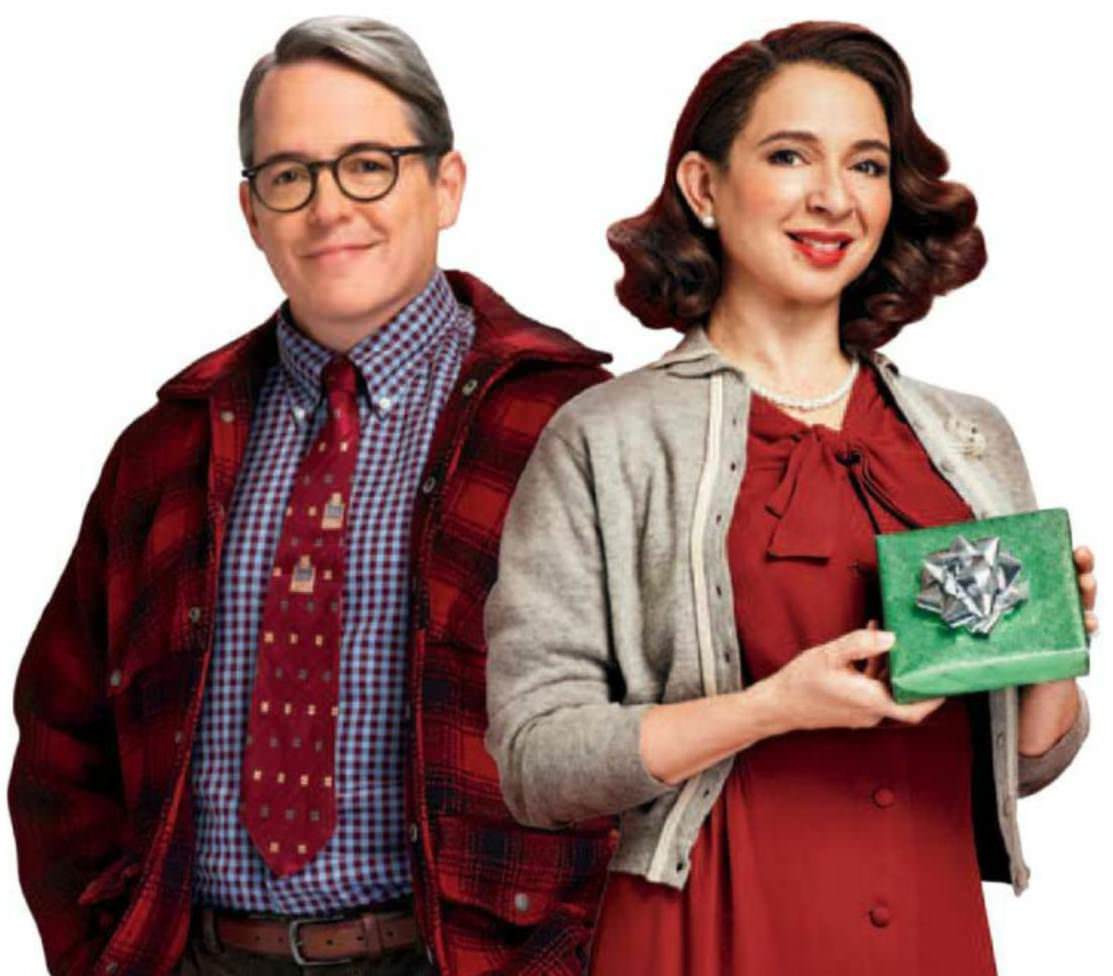 Christmas Story Deck The Halls  Matthew Broderick & Maya Rudolph Deck The Halls