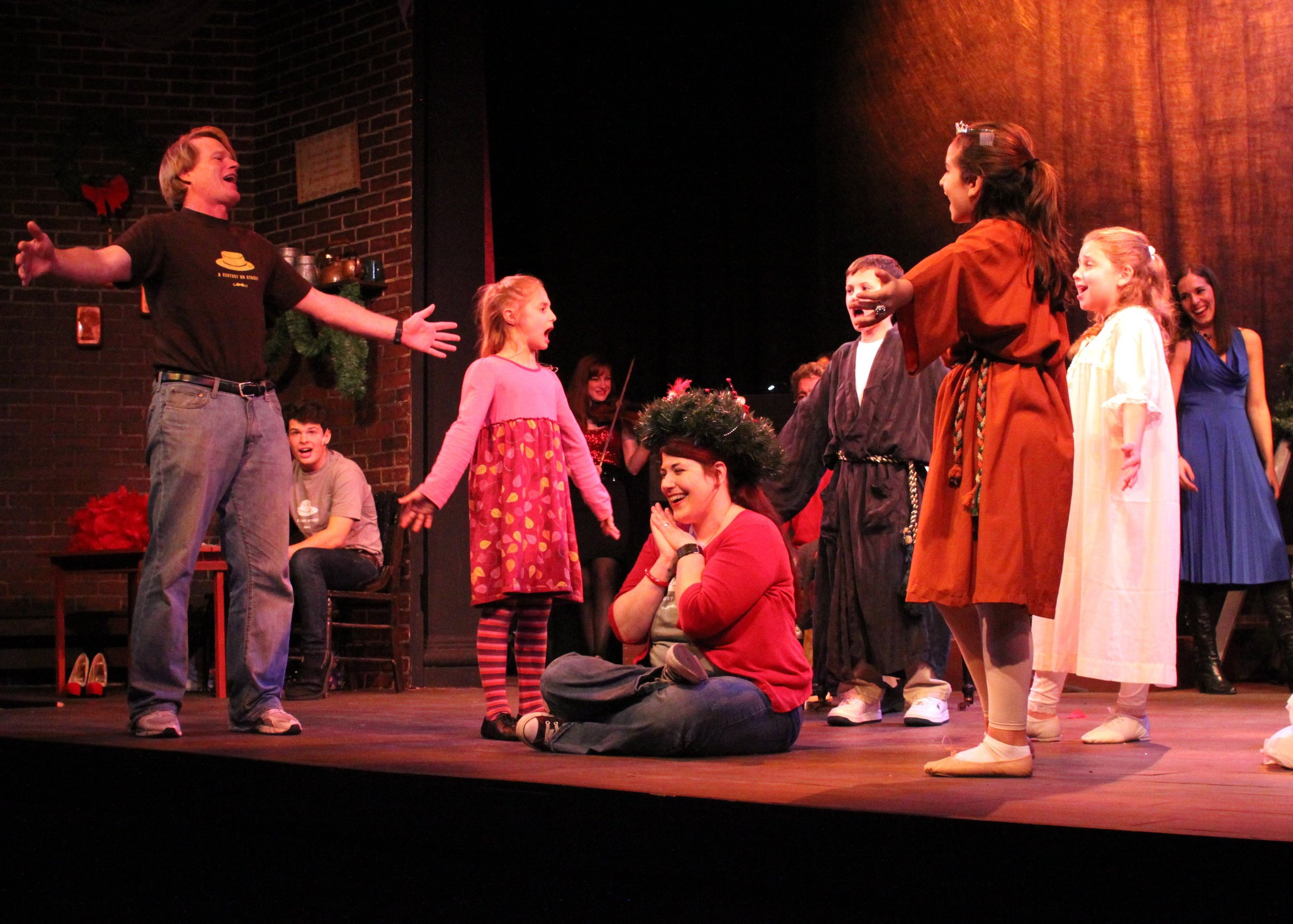 Christmas Story Deck The Halls  Home for the Holidays Ivoryton Playhouse