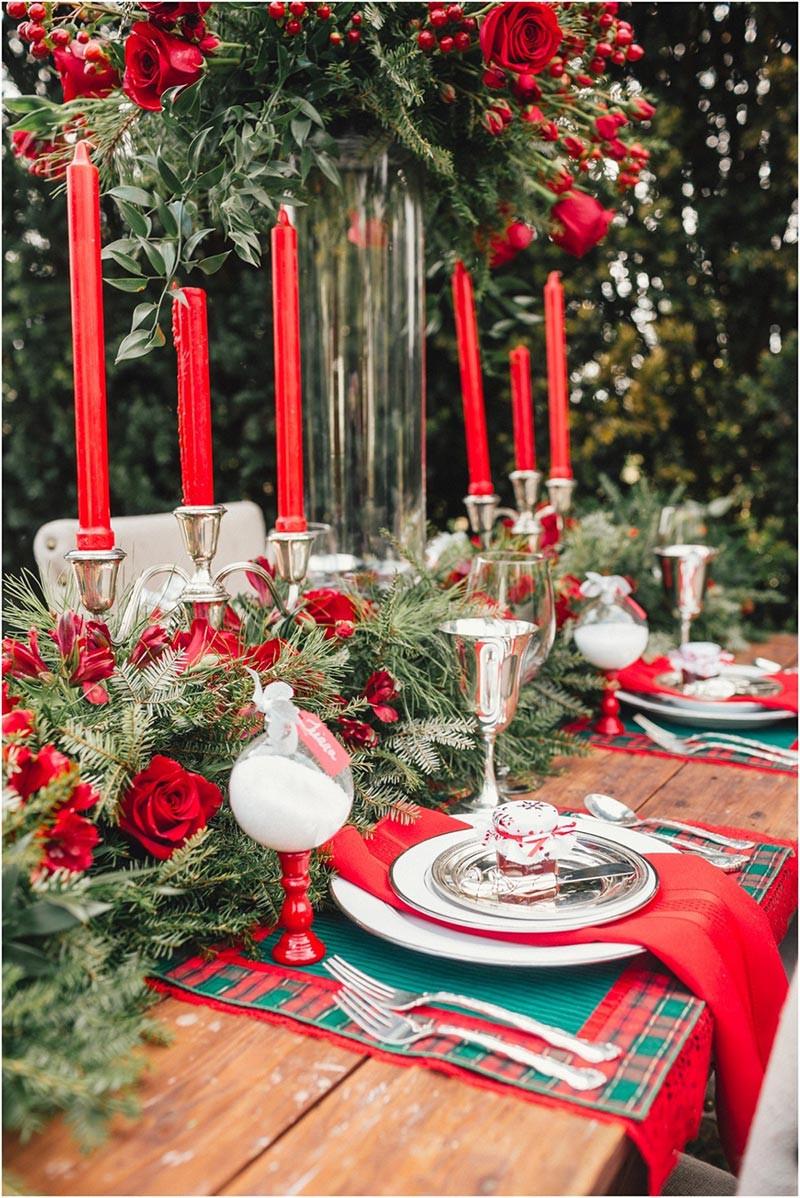 Christmas Table Decorations  Quiet Corner Ideas for Christmas Table Decorations Quiet