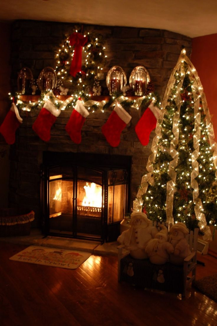Christmas Tree Fireplace  Safety Tips for Holiday Decorating Mantels & Fireplaces