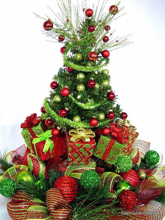 Christmas Tree Flower Arrangement  76 best Christmas Centerpieces & Floral Arrangements