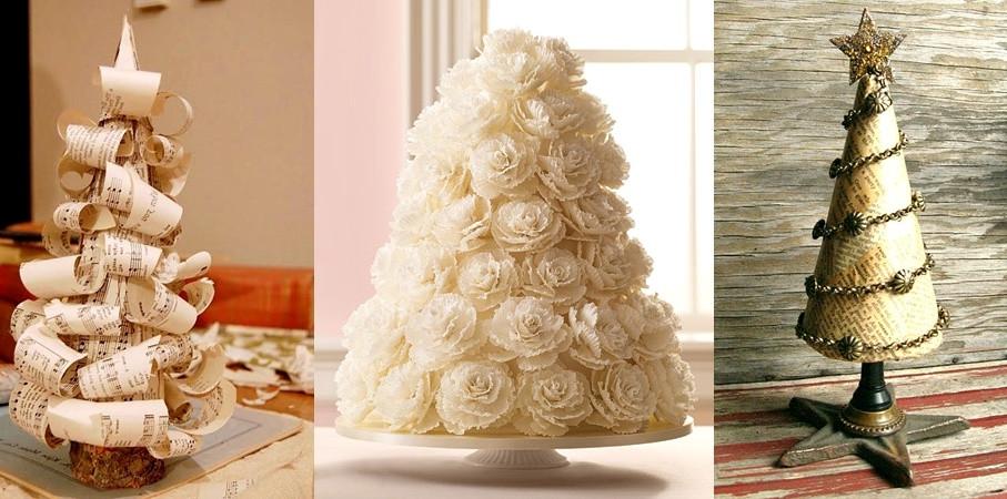 Christmas Tree Flower Arrangement  Pop Culture And Fashion Magic Original Christmas Trees Ideas