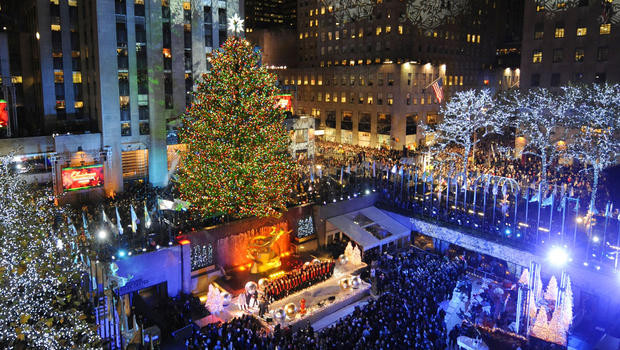 Christmas Tree Lighting Nyc  25 Day of Christmas 3 – Rockefeller Center 82nd Annual