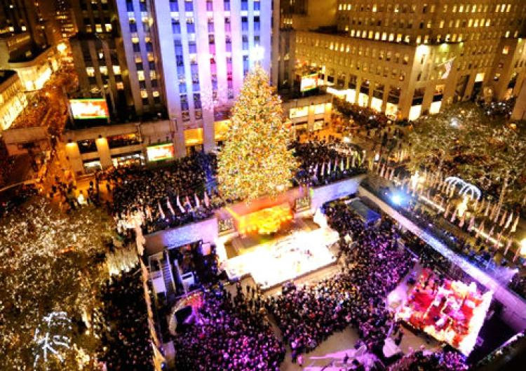 Christmas Tree Lighting Nyc  Behind the twinkle Rockefeller Center tree lighting NY