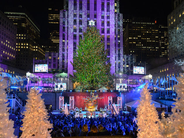 Christmas Tree Lighting Nyc  Rockefeller Center Christmas Tree In NYC 2019 Guide