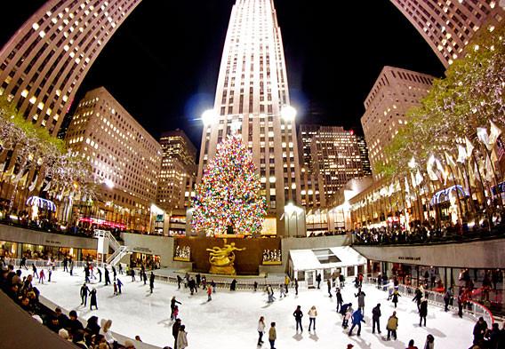 Christmas Tree Lighting Nyc  Christmas in New York 2019 Rockefeller Center Christmas Tree