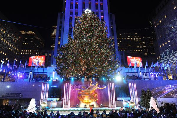 Christmas Tree Lighting Nyc  New York City Holiday Events Christmas in NYC