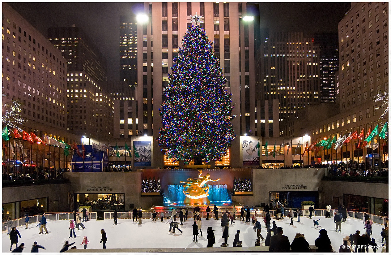 Christmas Tree Lighting Nyc  Rockefeller Center Christmas Tree Lighting 2017
