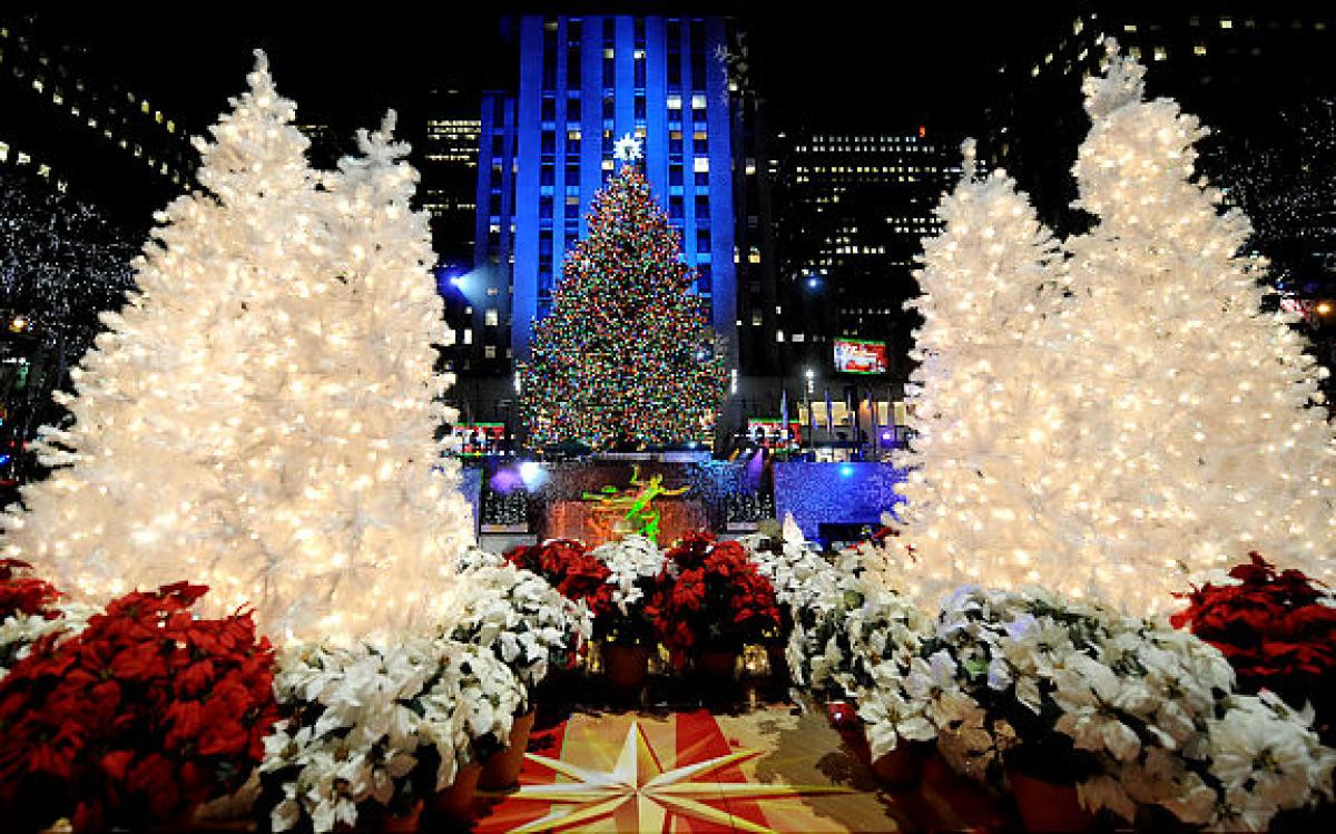 Christmas Tree Lighting Nyc  Rockefeller Center Christmas tree lighting O Christmas