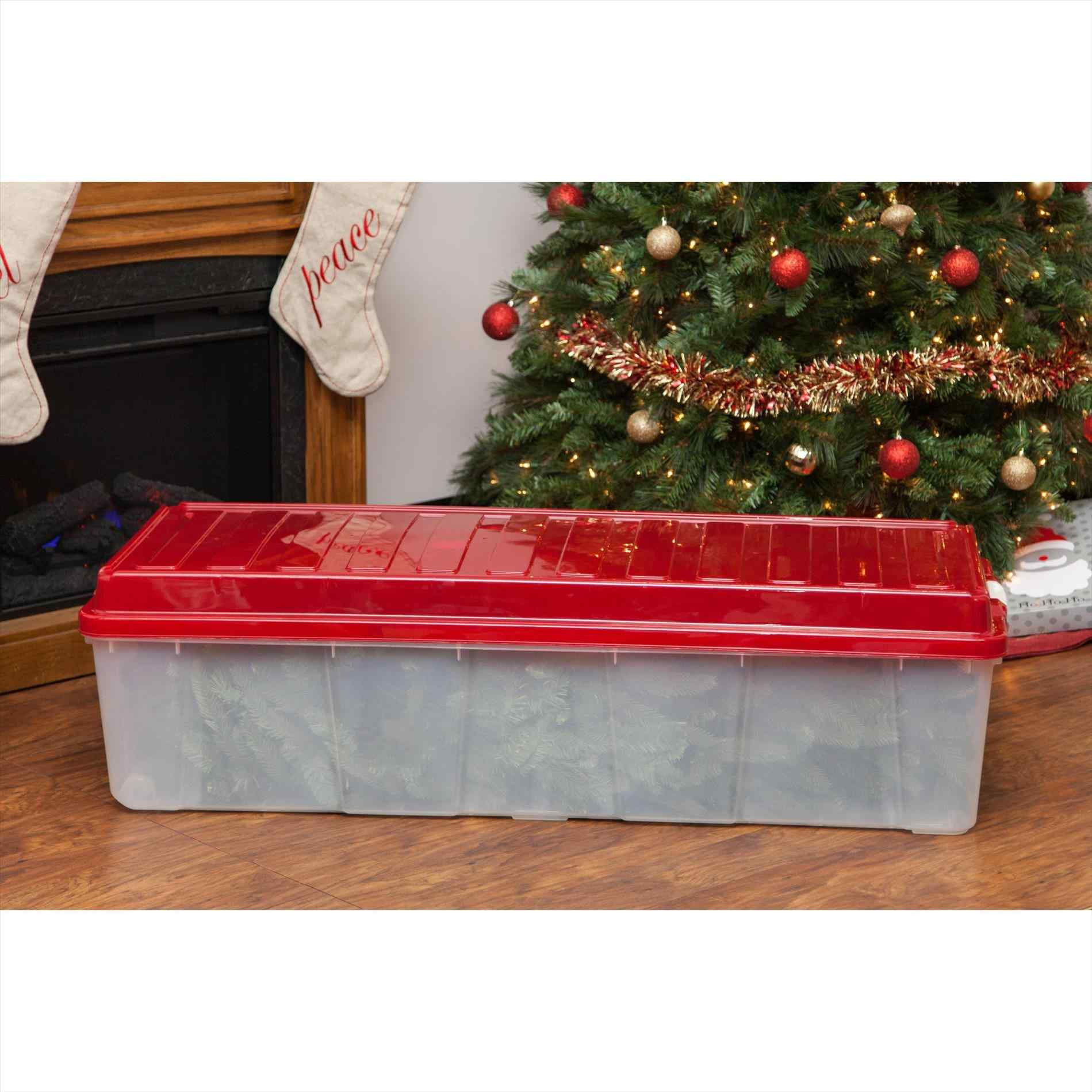 Christmas Tree Storage Container  Best Christmas Tree Storage Container