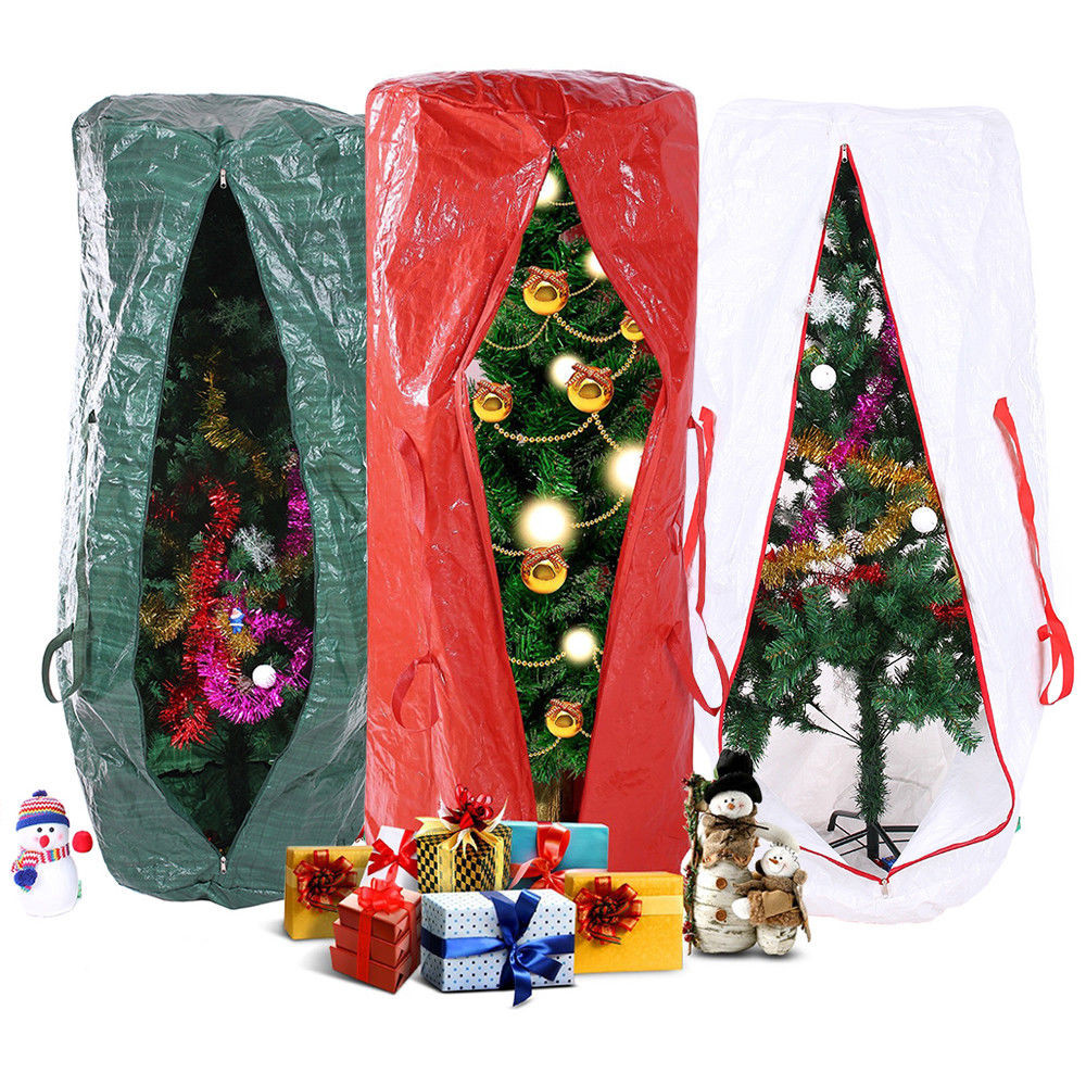 Christmas Tree Storage Container  9 Feet Strong Christmas Xmas Tree Storage Bag Extra