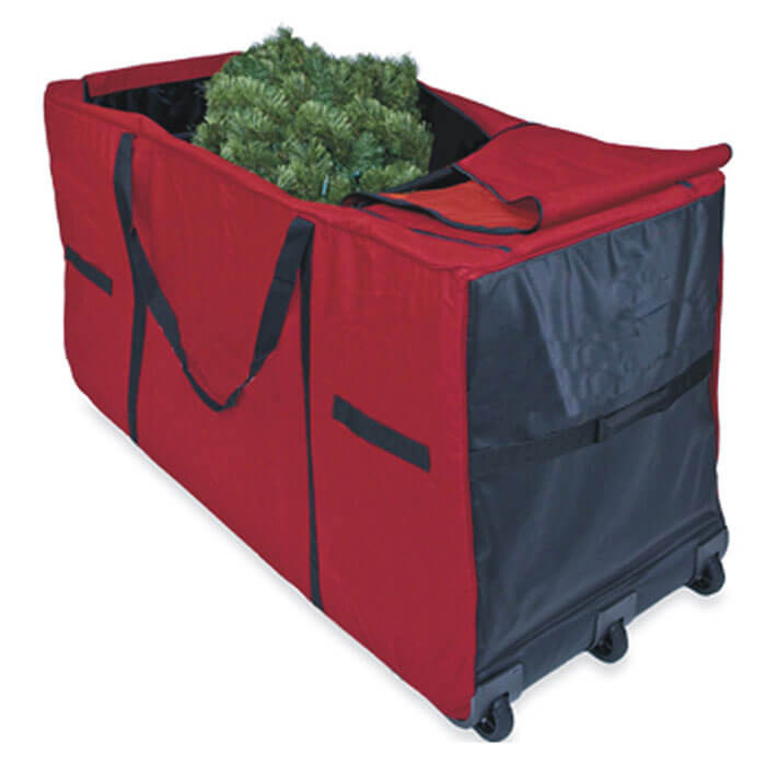 Christmas Tree Storage Container  Christmas Tree Storage Bag with Wheels from Camerons Products