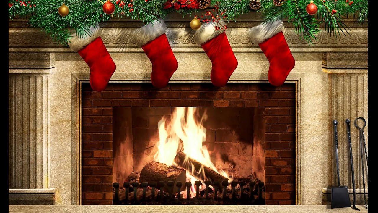 Christmas Wallpaper Fireplace  Christmas Fireplace Ex v2 Screensaver