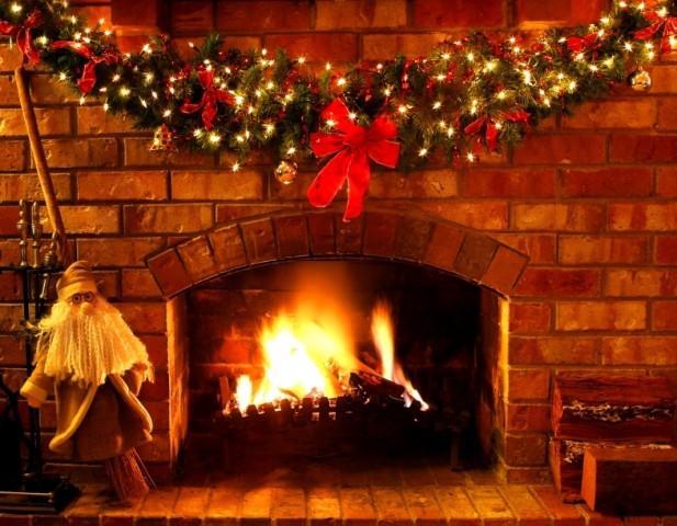 Christmas Wallpaper Fireplace  Christmas Wallpapers and and s 3D Christmas