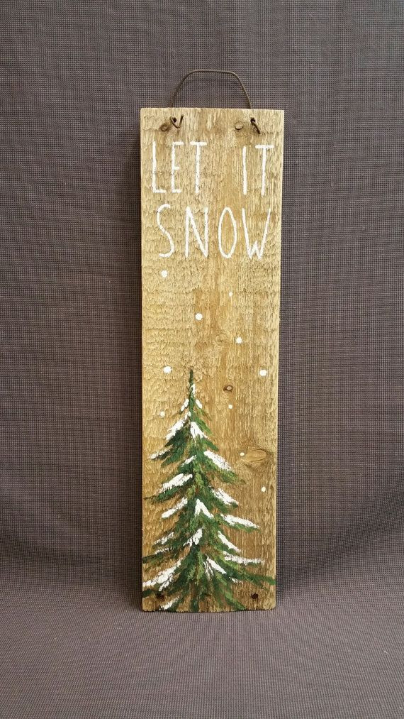 Christmas Wood Art  1000 ideas about Christmas Pallet Signs on Pinterest