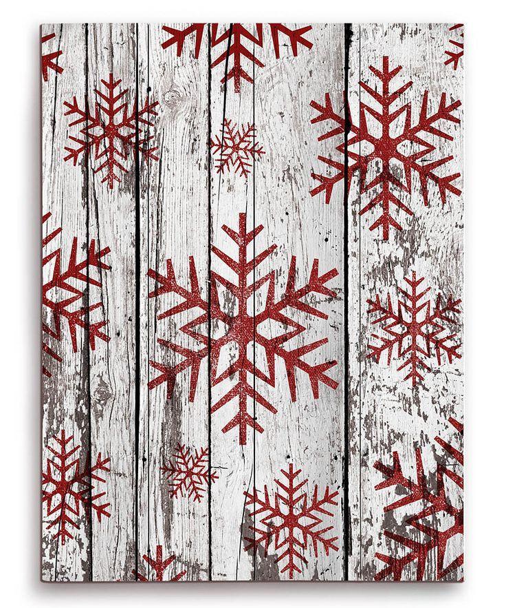 Christmas Wood Art  Snowflakes Wood Wall Art Wood decor