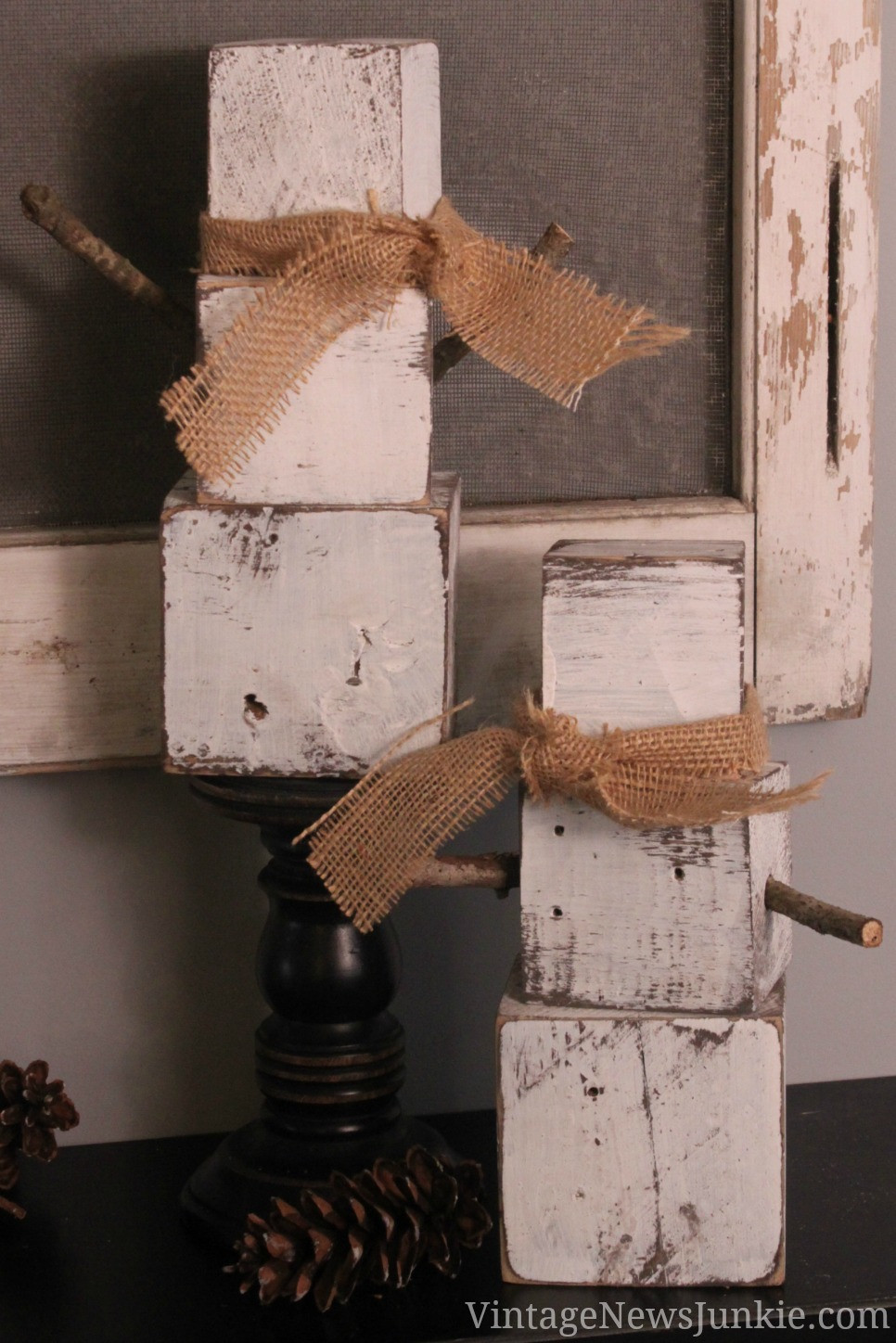 Christmas Wood Art  10 Amazing Christmas Pallet Projects