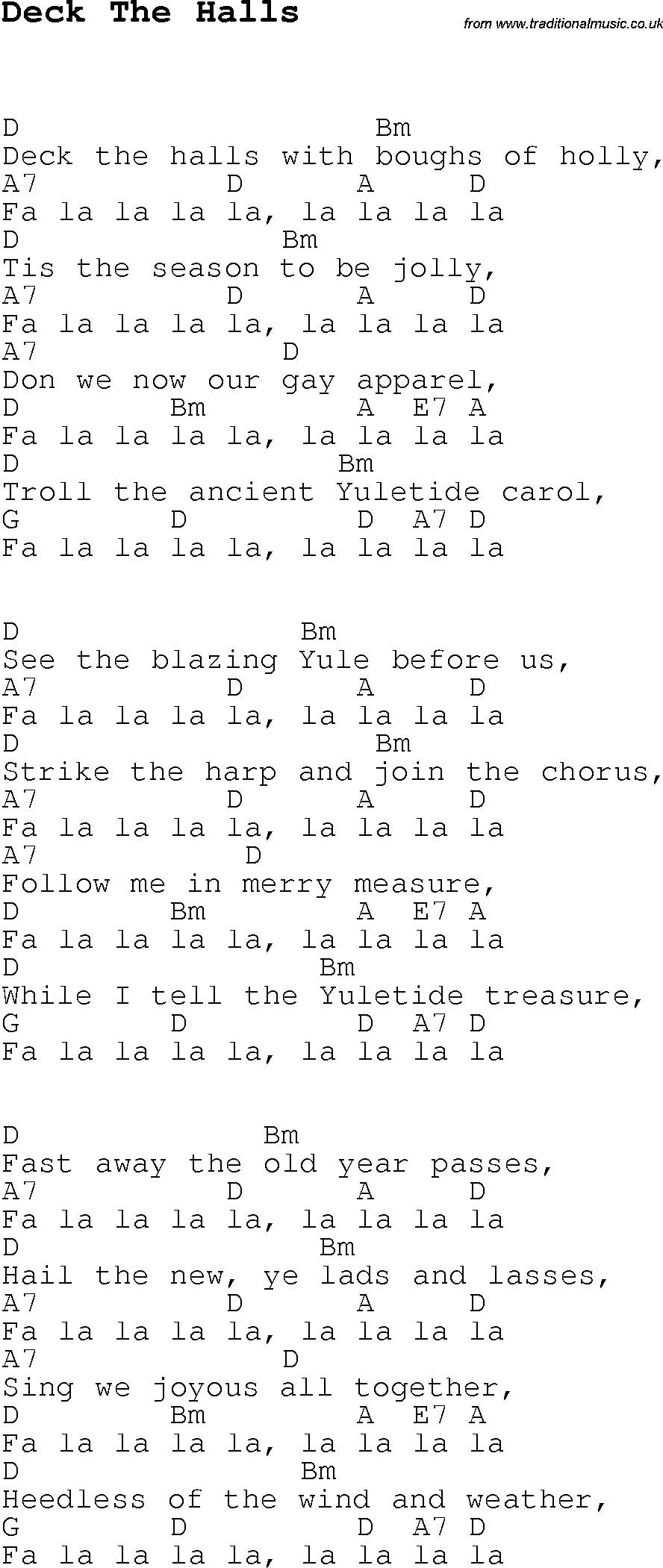 Deck The Halls Christmas Song  deck the halls lyrics DriverLayer Search Engine