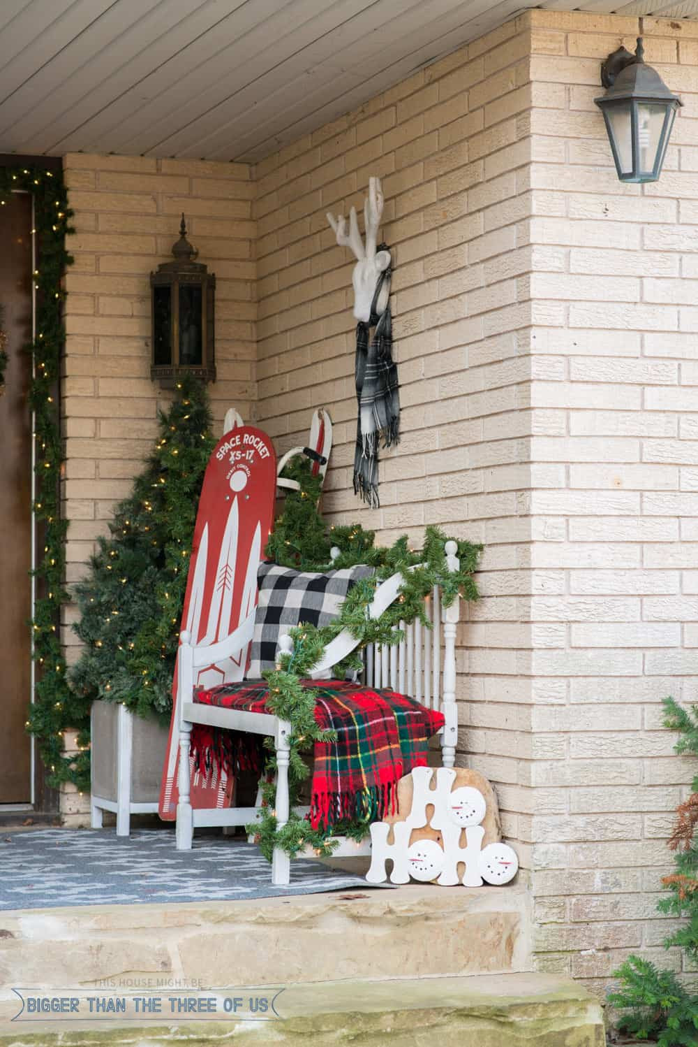 Decorating Porch For Christmas  Decorating Your Front Porch For Christmas Bigger Than