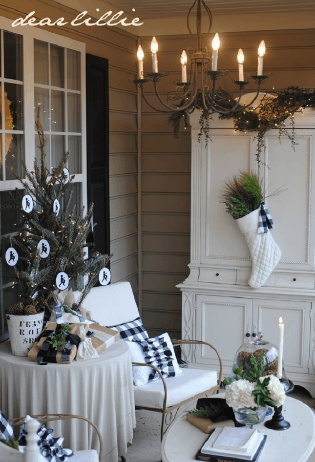 Decorating Porch For Christmas  FRONT PORCH CHRISTMAS DECOR