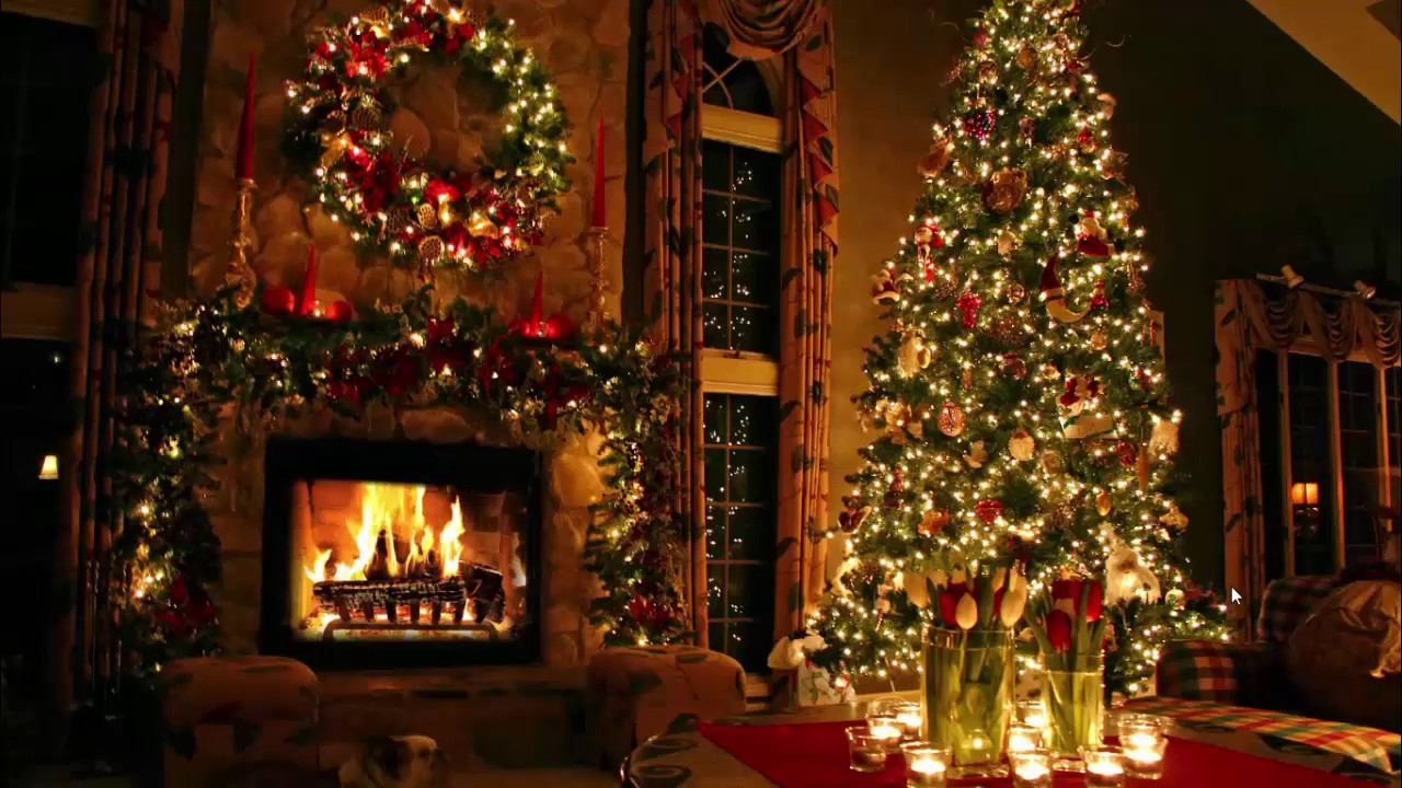 Fireplace Christmas Background Inspirational Classic Christmas Music with A Fireplace and Beautiful