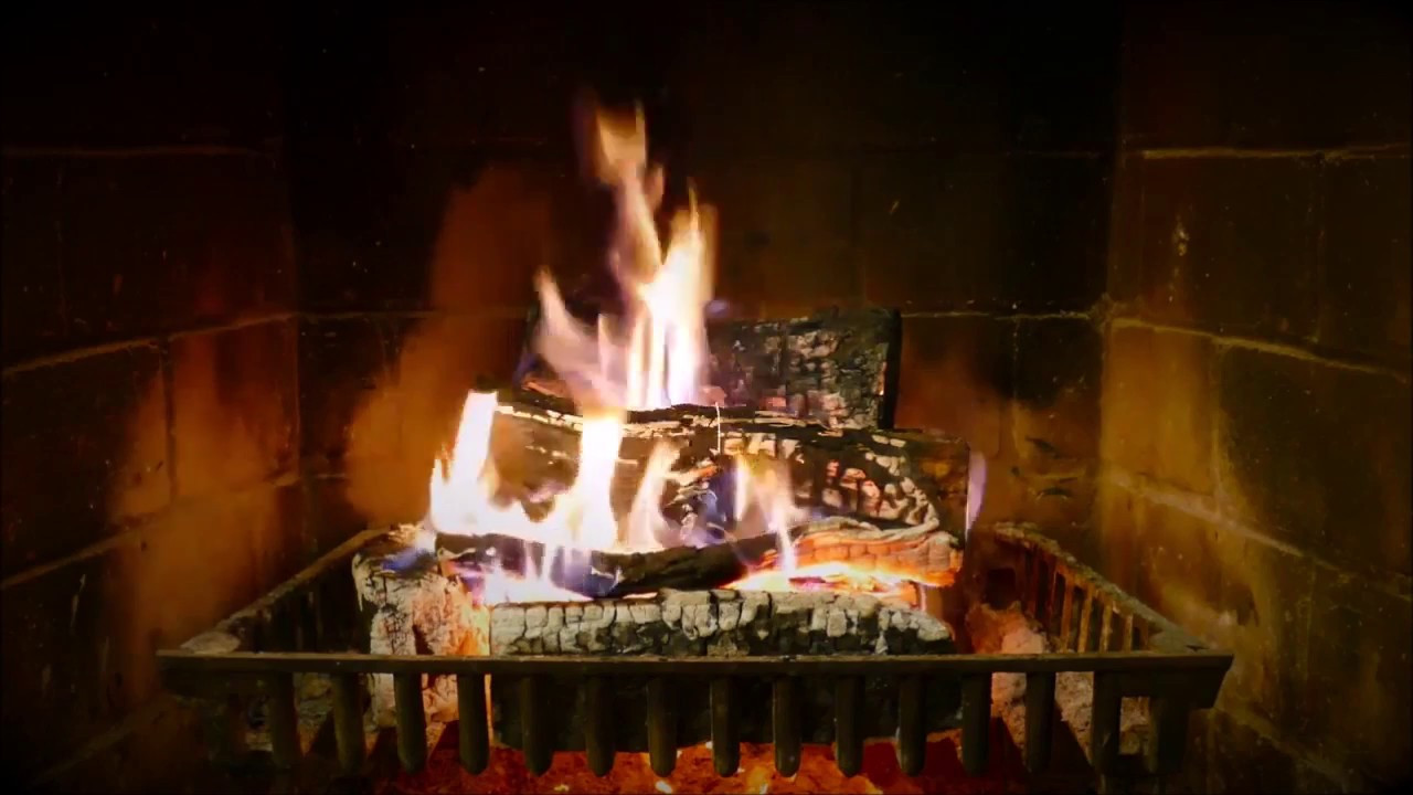 Fireplace With Christmas Music  Best Fireplace Christmas songs with Crackling Sounds
