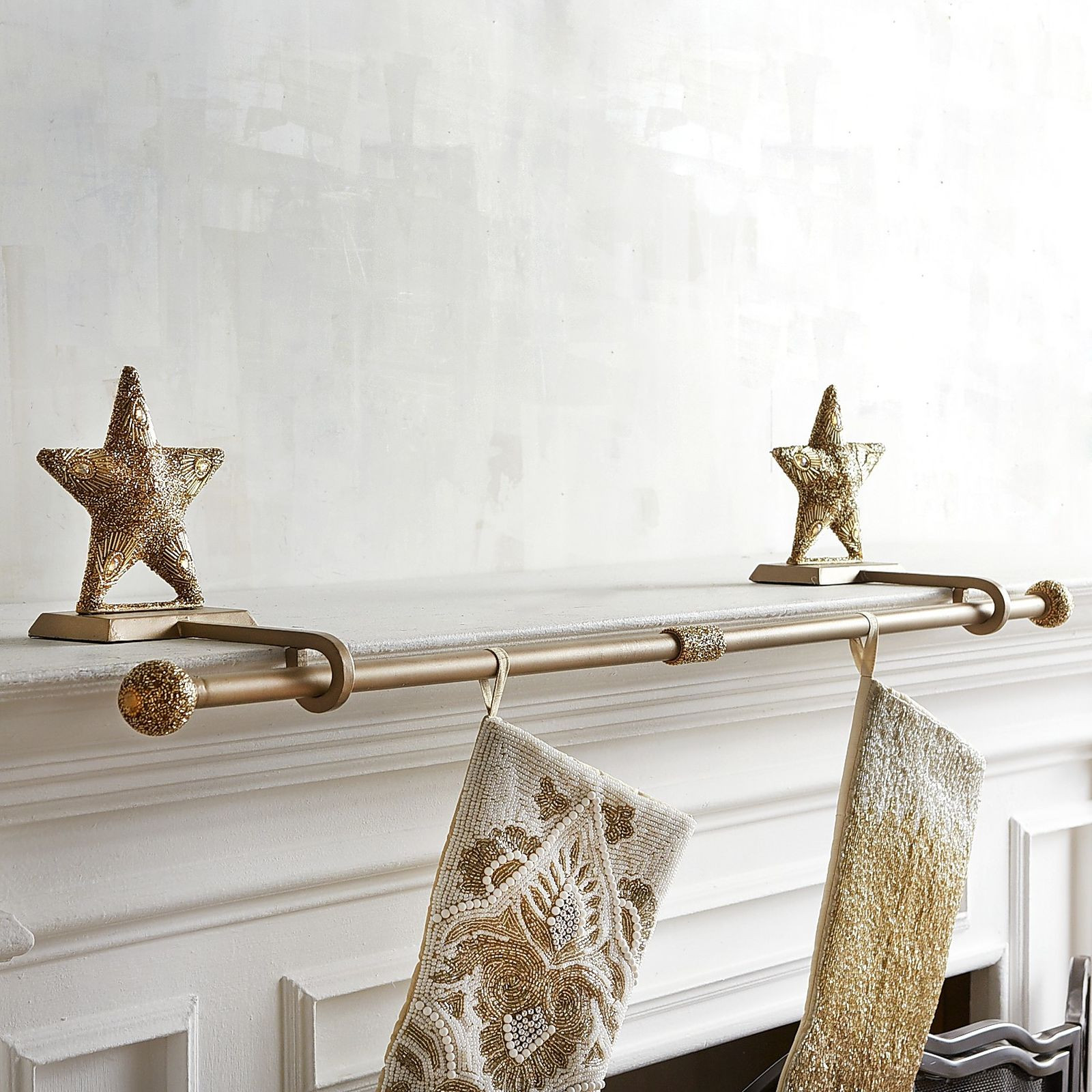 Floor Christmas Stocking Holder  Accessories plete Your Mantel With Exciting Christmas