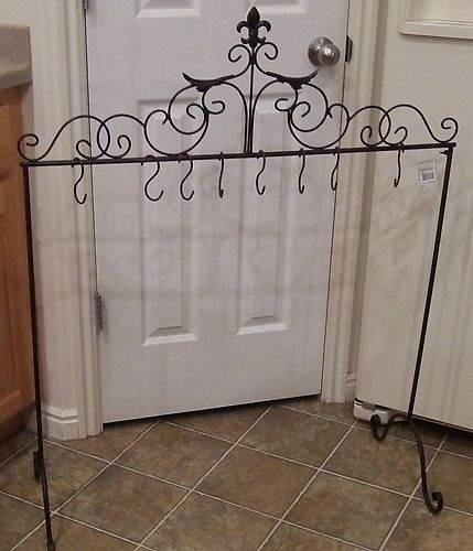 Floor Christmas Stocking Holder  17 Best images about Wrought Iron on Pinterest