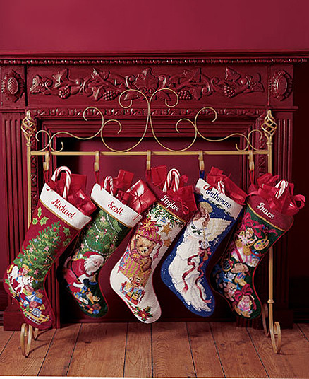 Floor Christmas Stocking Stands  Home & Garden by Jules Sherman at Coroflot