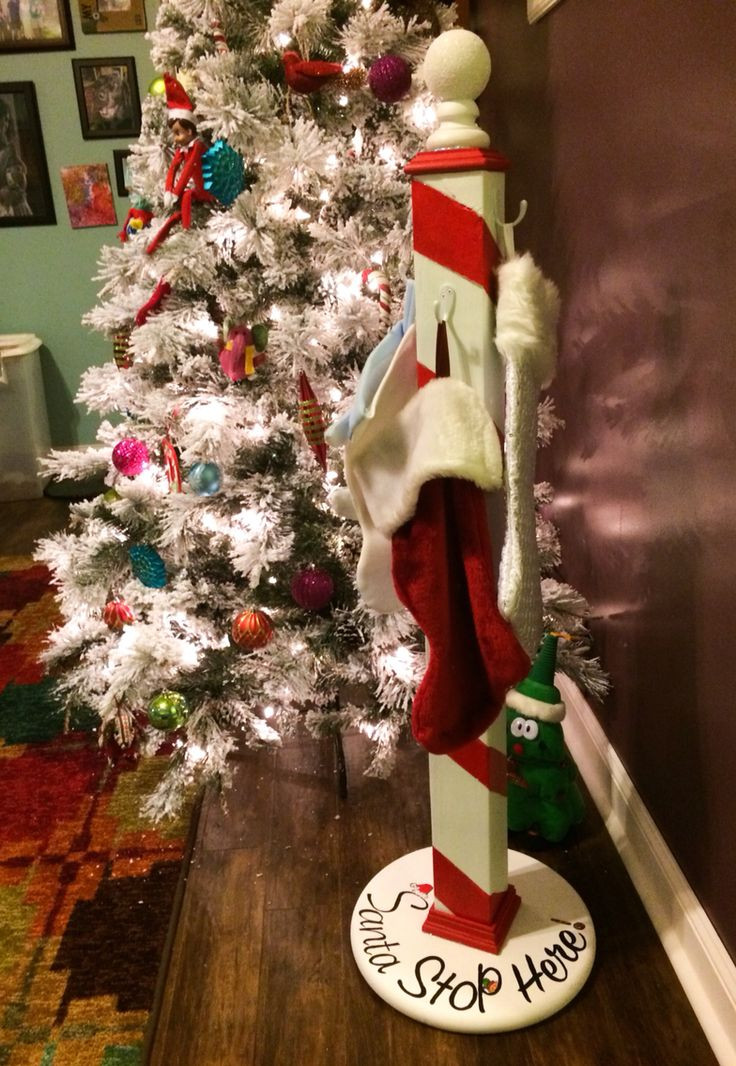 Floor Christmas Stocking Stands  17 Best ideas about Stocking Holder Stand on Pinterest