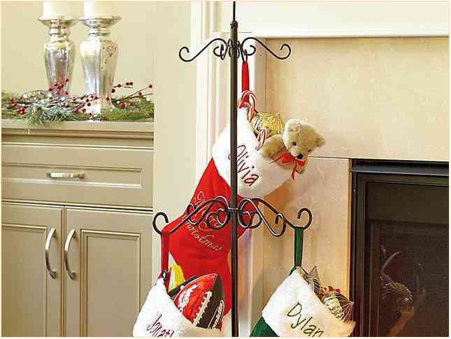 Floor Christmas Stocking Stands  Christmas Stocking Holder Stand