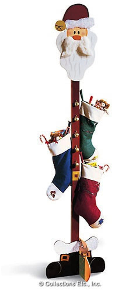 Floor Christmas Stocking Stands  Stocking Holders No Fireplace Mantel No Problem