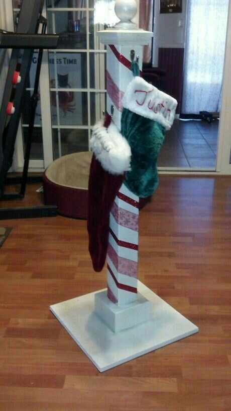 Floor Christmas Stocking Stands  9 best Christmas Stocking Floor Stand images on Pinterest