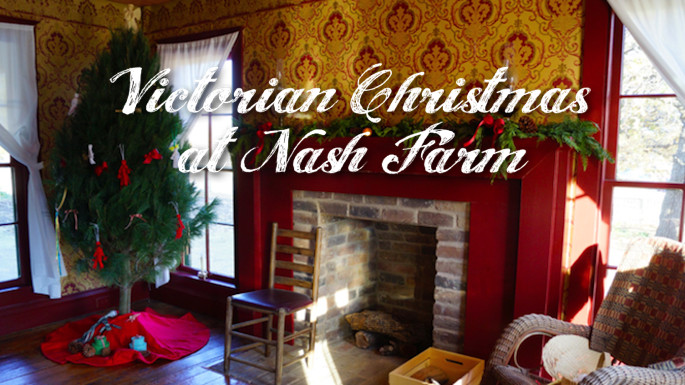 Flower Mound Christmas Tree Farm  Victorian Christmas at Nash Farm Family eGuide