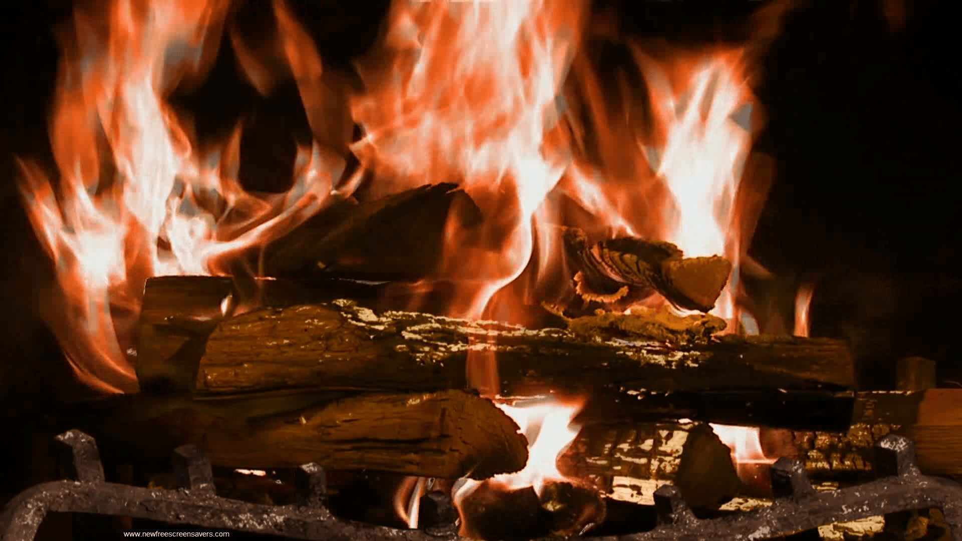 Free Christmas Fireplace Screensaver  Fireplace Wallpaper 57 images