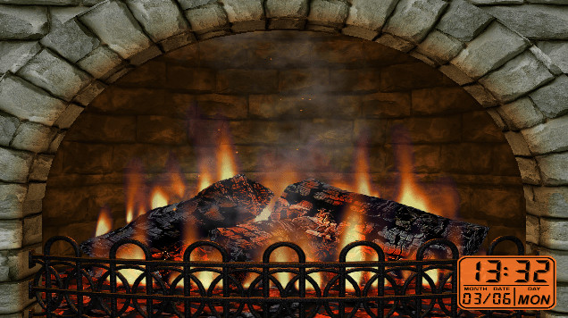 Free Christmas Fireplace Screensaver  4 best virtual fireplace software and apps for a perfect