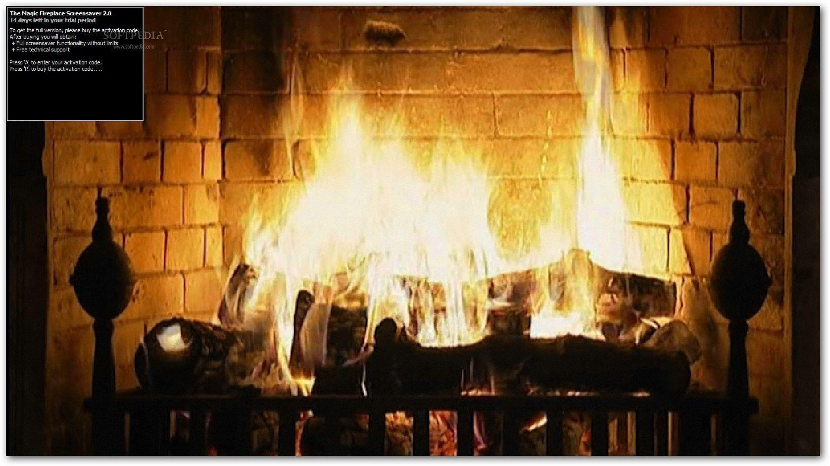 Free Christmas Fireplace Screensaver  Fireplace Desktop Wallpapers Wallpaper Cave